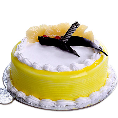 Pineapple Extravaganza Cake - Send Cakes In Mohali