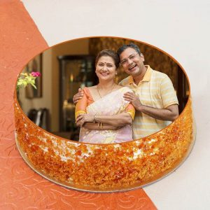 Mohali Bakers - Parents-day-cake_